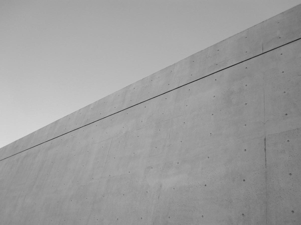 コンクリートの壁写真